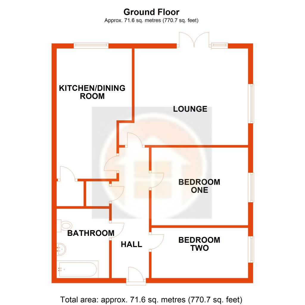 Floorplans For Auckland Close, Bexhill-on-Sea