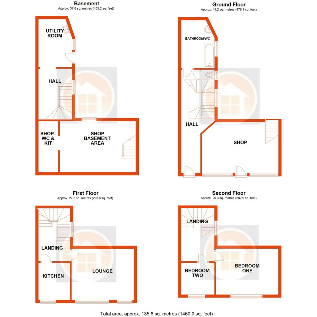Floorplans For London Road, St. Leonards-on-Sea
