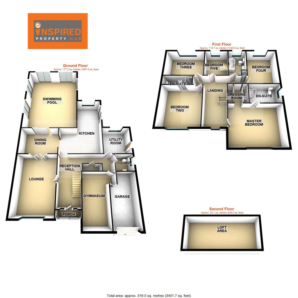 Floorplans For Sandrock Park, Hastings